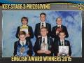 2015 KS3 Prizegiving Poster English