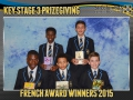 2015 KS3 Prizegiving Poster French