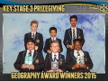 2015 KS3 Prizegiving Poster Geography