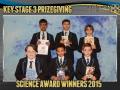 2015 KS3 Prizegiving Poster Science