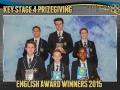 2015 KS4 Prizegiving Poster English