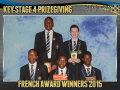 2015 KS4 Prizegiving Poster French